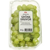 Gröna kärnfria druvor 500g Klass 1 ICA