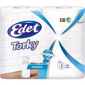 Hushållspapper Torky Original 2-p Miljömärkt Edet