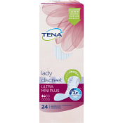 Lady Ultra mini plus Inkontinensskydd 24-p Tena lady