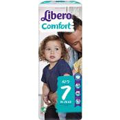 Blöjor Comfort Storlek 7 16-26kg 42-p Miljömärkt Libero