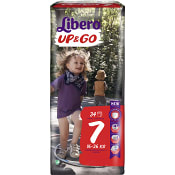 Byxblöjor Up&go Storlek 7 16-26kg 34-p Miljömärkt Libero