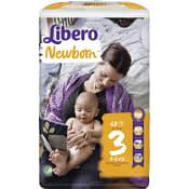 Blöjor Newborn Storlek 3 4-8 kg 68-p Miljömärkt Libero