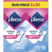 Trosskydd Daily Fresh Normal Duopack 2 x 30st Libresse