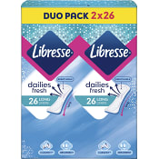 Trosskydd Daily Fresh Long Duopack 2 x 26st Libresse