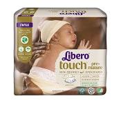 Blöjor Touch Prematur 2,5kg 24-p Miljömärkt Libero