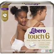 Blöjor Touch Strl 6 13-20kg Miljömärkt 38-p Libero