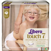 Blöjor Touch Strl 7 16-26kg Miljömärkt 34-p Libero