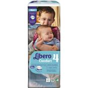 Blöjor Comfort Storlek 4 7-11kg 52-p Miljömärkt Libero