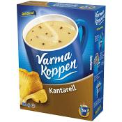 Kantarellsoppa 3 portioner 6dl Varma Koppen