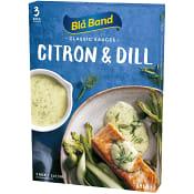 Citron & Dillsås 2,5dl 3-p Blå Band