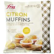 Citronmuffins Glutenfria 210g 4-p Fria