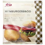 Hamburgerbröd Glutenfri Fryst 280g Fria