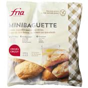 Minibaguetter Glutenfri Mjölkfri Fryst 240g Fria