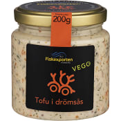 Tofu Drömsås 200g Fiskexporten