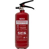 Brandsläckare Pulver 2kg NEXA