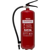 Brandsläckare Pulver 6kg 43A Röd NEXA