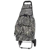 Dramaten shoppingvagn Zebra 64l Cavalet
