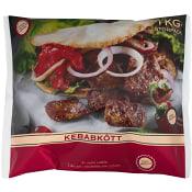 Kebabkött Fryst 1kg Svenska Hamburgare