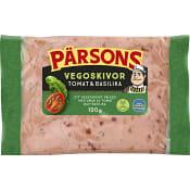 Vegoskivor Tomat & Basilika 100g Pärsons