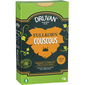 Couscous Fullkorn 1kg Druvan