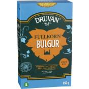 Fullkorns Bulgur 850g Druvan