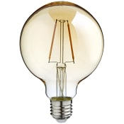 LED filament dekorationslampa G95 1,7W E27 100lm Guld ICA Home