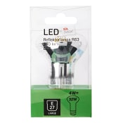 LED filament R63 4W E27 ICA Home