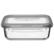 Förvaringsburk Glas med lock 1,09l ICA Cook & Eat