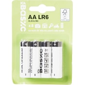 Batteri LR6 AA 8-p ICA Basic