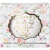 Doftljuslykta Sunshine Pomegranate/ cranberry 9cm ICA