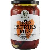 Röd Paprikafile 670g Plivit Trade