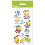Stickers Påsk 3D