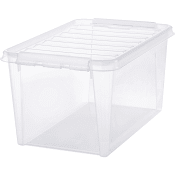 Förvaringsbox Transparent 45l SmartStore