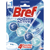 Power active Ocean breeze Doftblock Toalettrengöring 50g WC Bref