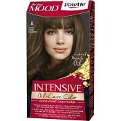 Hårfärg Mood 8 Ljusbrun 1-p Palette