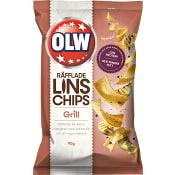 Linschips Grill 90g Olw