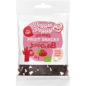 Fruktgodis Jordgubb Ekologisk 50g Veggie Peggy