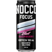 Energidryck Focus Raspberry Blast 330ml Nocco