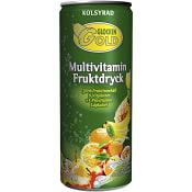 Fruktdryck Multivitamin kolsyrad 33cl Glockengold