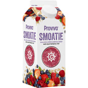 Smoothie Hallon jordgubb & blåbär 0,75l Proviva