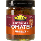 Strimlade Soltorkade tomater 200g Zeta