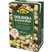 Blandade Bönor Ekologisk 380g Zeta