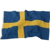 Flagga Sverige 240cm