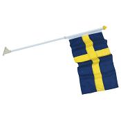 Fasadset Sverigeflagga 117cm