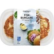 Fiskburgare Ost & bacon 250g Fiskeriet