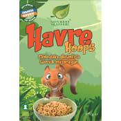 Flingor Havre Hoops Glutenfri Ekologisk 375g Naturens skafferi