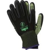 Arbetshandske Dotty Grön Stl 8 Gloves Pro