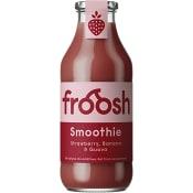Fruktsmoothie Jordgubb banan & guava 750ml Froosh