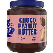 Jordnötssmör Choklad utan tillsatt socker 320g HealthyCo