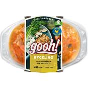 Kycklinglårfilé med mozzarella & dinkelvete 400g Gooh
